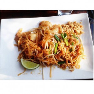 phad thai lunch
